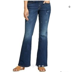 UNIVERSAL THREAD Mid rise Skinny Boot Cut Jeans